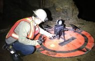 Modeling in underground gold mines: see how drones collect data in space-time tunnels?