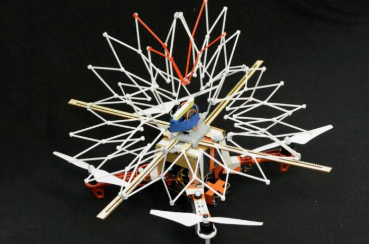 New UAV Safety Device Inspired by Blowfish