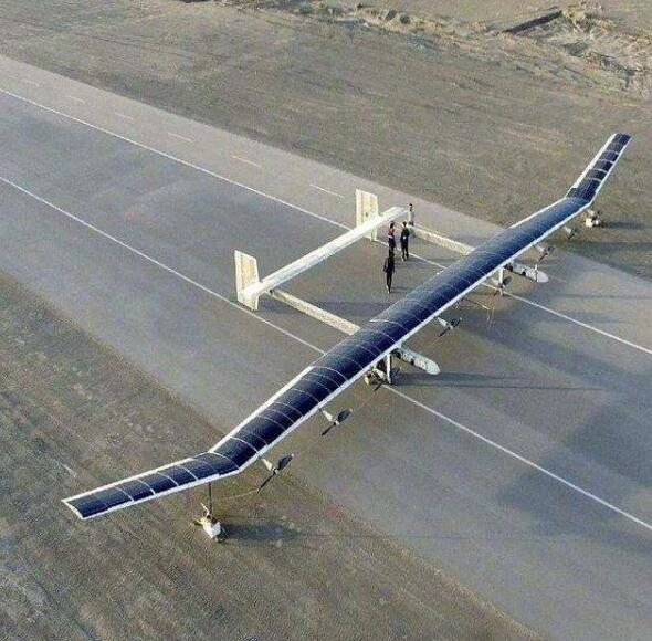Solar-powered Drone with Incredible 3-Month Air Time