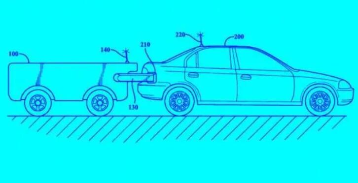 Toyota New Patents-Car Auto-refueled UGV