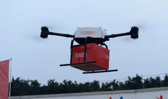 Delivery Drones Providing Logistic Support For the Epidemic Areas