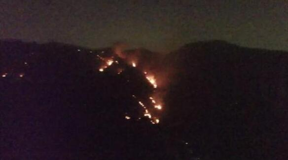 Drones Assisted in Putting Out a Mountain Fire in Shenzhen