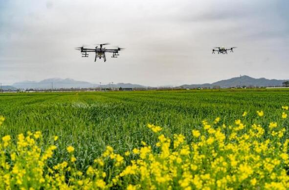 Agriculture UAV for Spring Planting and Ploughing